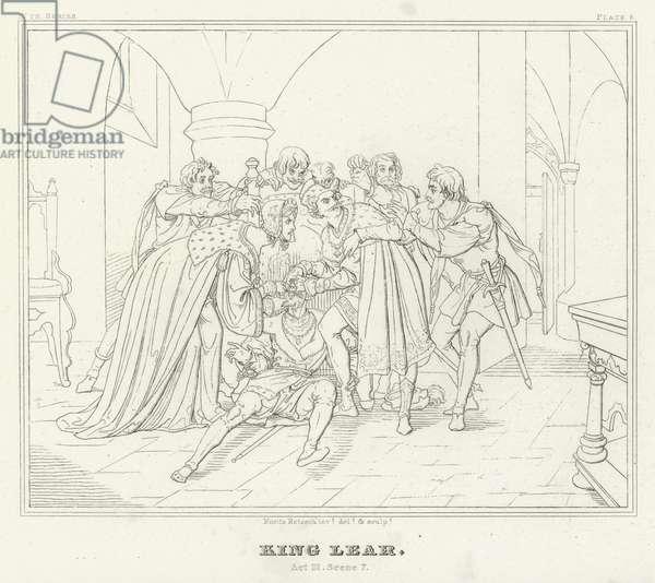 King Lear, Act III, Scene 7 (engraving)