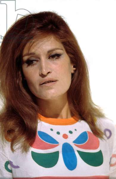 Singer Dalida (1933-1987) C. 1979 (photo)