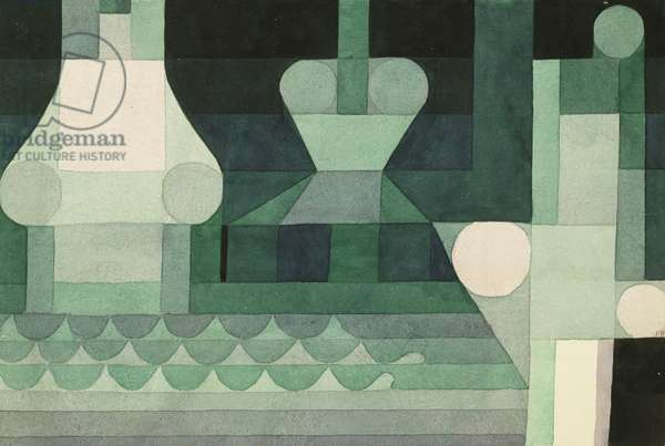 Floodgates, 1922 (watercolour on paper)