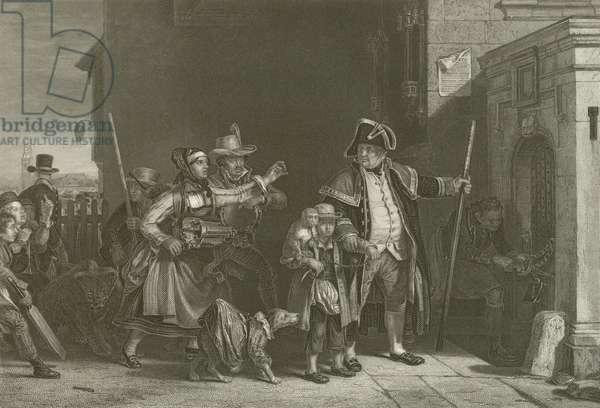 The Parish Beadle (engraving)