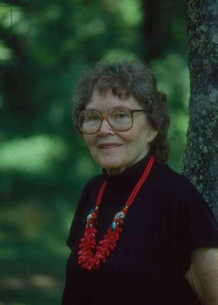 American writer Ellen Douglas in 1996