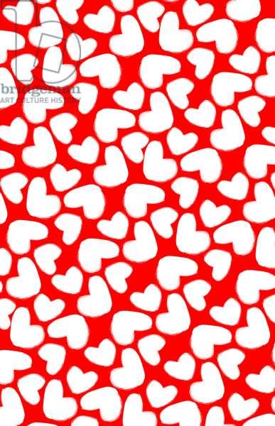 Drawn Hearts, 2014 (digital image)