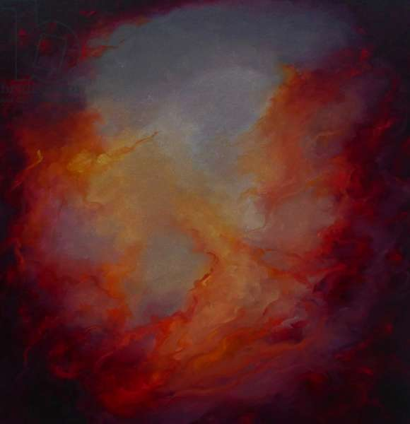Phoenix, 2021, (oil on canvas)