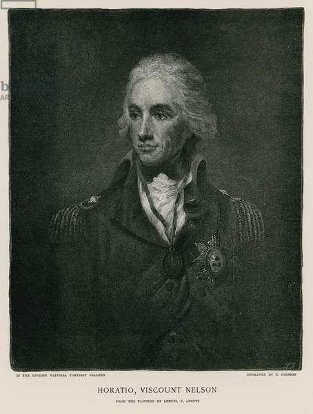 Horatio, Viscount Nelson (engraving)