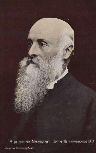 Bishop of Norwich, John Sheepshanks, DD (photo)