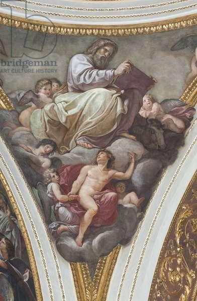 Saint Luke, 1792-95 (fresco)