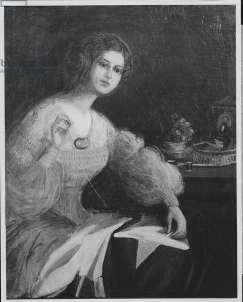 Joanna Troutman, 1935-36 (b/w photo)