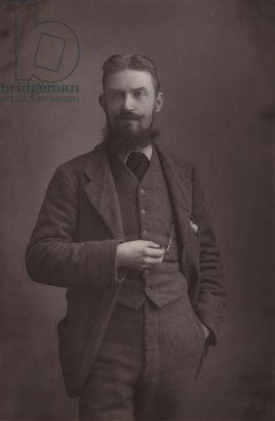 Mr Bernard Shaw (b/w photo)