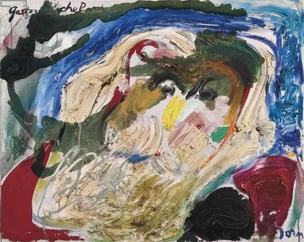Portrait of Gaston Bachelard, 1960-61 (oil on canvas)