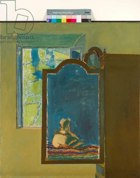 Open Window (Mirror Image), 1968 (oil on canvas)