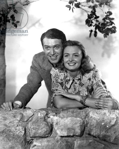La vie est belle IT'S A WONDERFUL LIFE de FrankCapra avec James Stewart, Donna Reed, 1946