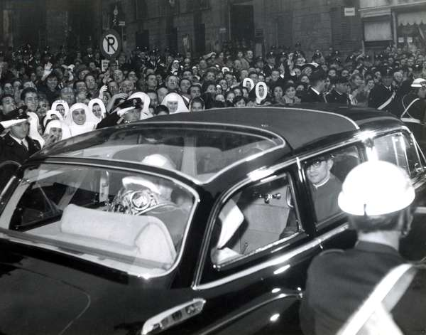 Rome May 11, 1963 Pope John XXIII went on an official visit to the Quirinal