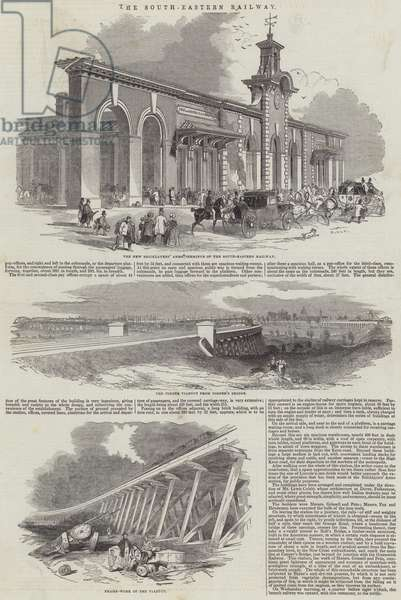 The South-Eastern Railway (engraving)