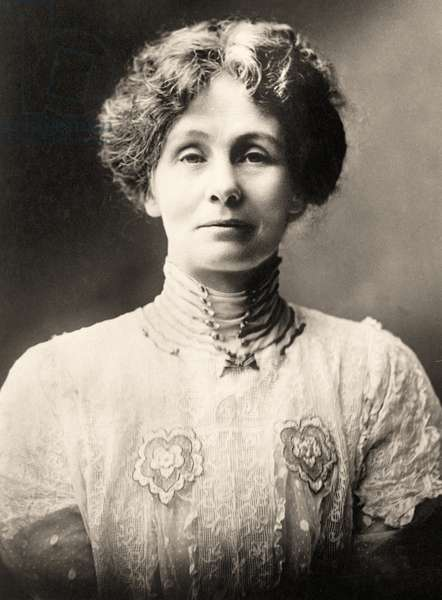 Portrait of Emmeline Pankhurst (photo)
