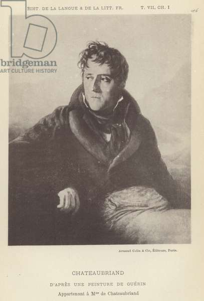 Chateaubriand (litho)