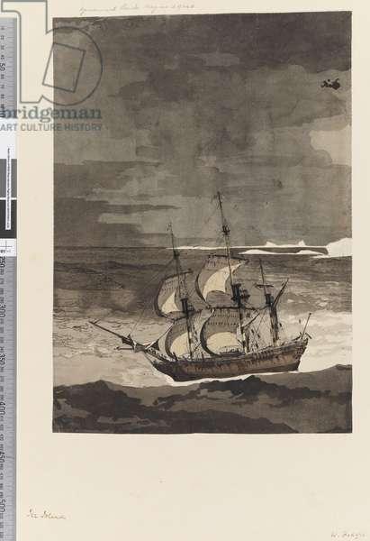 Page 27 Ice Islands, 1768-75 (w/c)