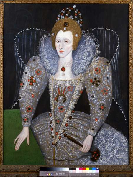 Queen Elizabeth I (oil on panel)