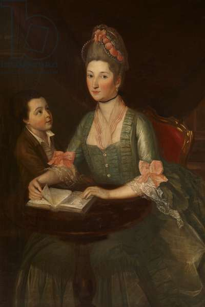 Theodosia Hawkins-Magill, Countess of Clanwilliam (1743 - 1817) with her Son, Richard, Lord Gilford, later 2nd Earl of Clanwilliam (1766 -1805)
