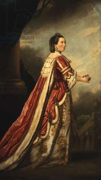 Portrait Elizabeth, Duchess of Northumberland (oil on canvas)