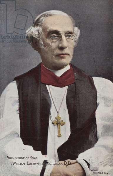 Archbishop of York, William Dalrymple Maclagan, DD (photo)