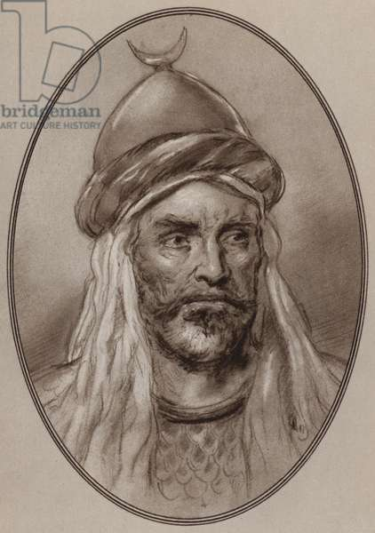 Portrait of Saladin (litho)