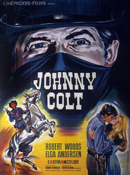 Affiche du film Johnny colt (Starblack) de GiovanniGrimaldi 1966