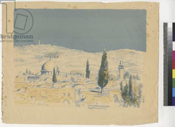 Jerusalem X, c.1924 (ink on paper)