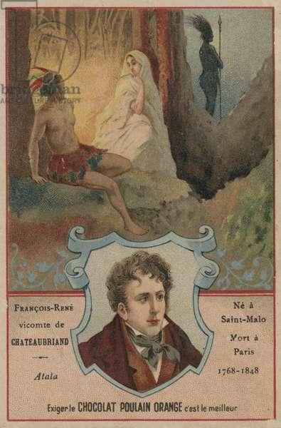 Chateaubriand (chromolitho)