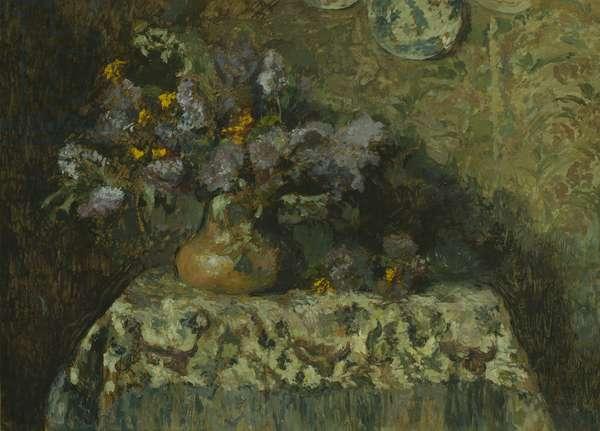 Flowers, 1904 (oil on panel)