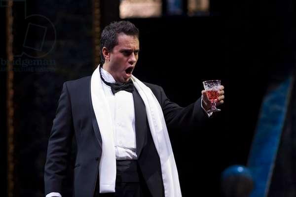 Toast of Erwin Schrott as Don Giovanni (photo)
