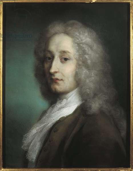 Italy, Treviso, Portrait of Jean-Antoine Watteau