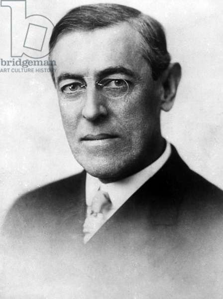 WOODROW WILSON (1856-1924). 28th President of the United States. Photograph c.1915.