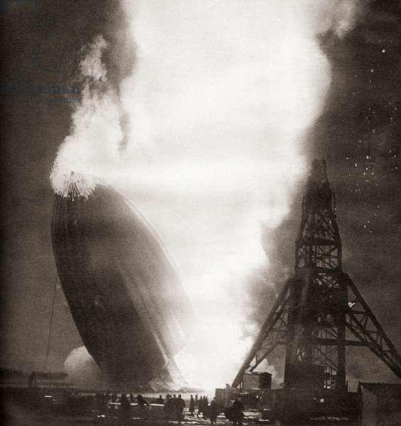 The Hindenburg disaster, May 6, 1937
