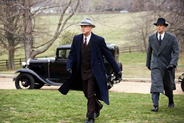 J.Edgar: J. EDGAR, l-r: Leonardo DiCaprio (as J. Edgar Hoover), Armie Hammer (as Clyde Tolson), 2011, ph: Keith Bernstein/©Warner Bros. Pictures/courtesy Everett Collection