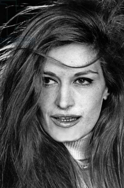 Singer Dalida on October 3, 1967