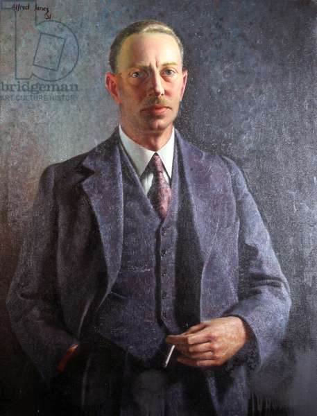 Untitled (portrait of a man), 1931 (oil on canvas)