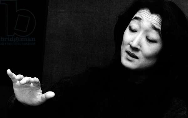 Mitsuko Uchida - portrait