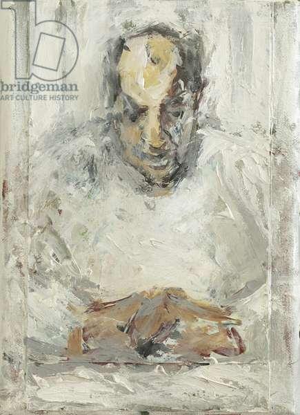 The Convalescent, 2014, (oil on canvas)