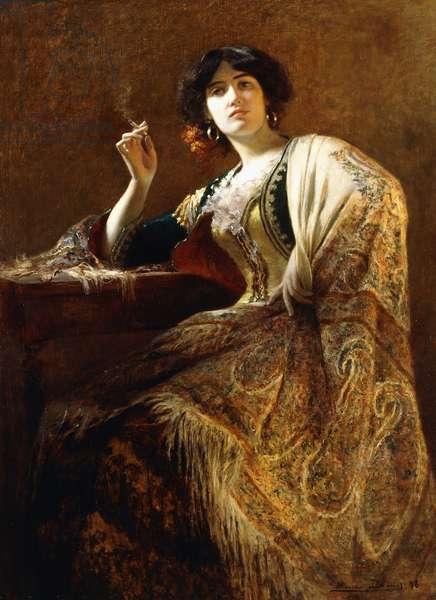 La Belle Otero as Carmen, 1898 (oil on canvas)