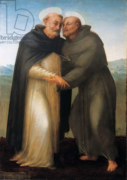 St. Francis and St. Dominic, 1515 (oil on panel)