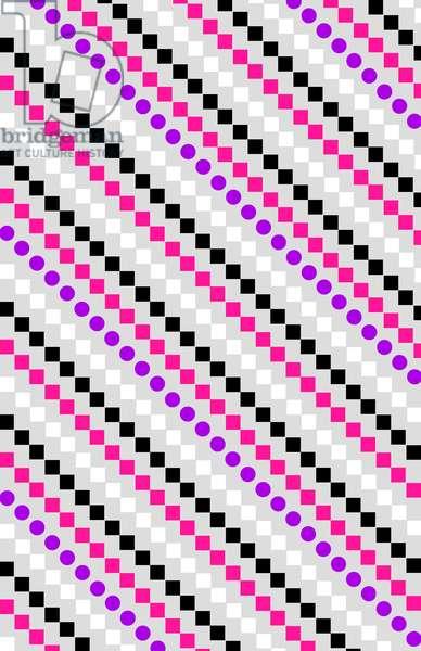 Boxed Stripe, 2014 (digital media)