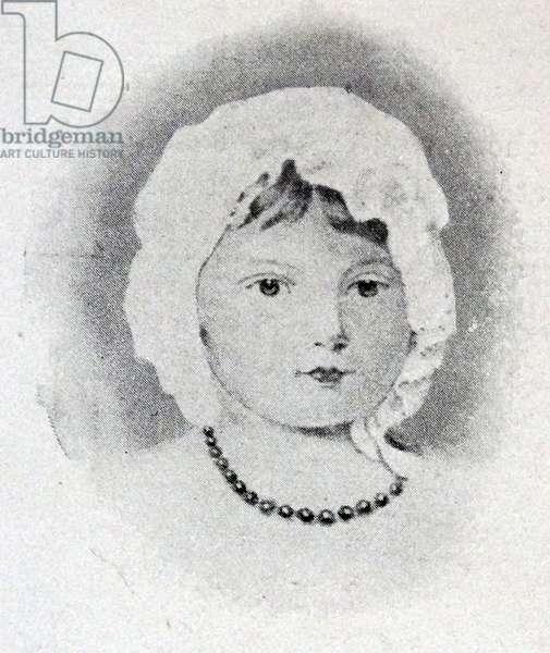Queen Victoria of Great Britain, 1821