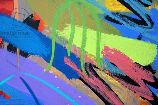 Abstract 59 (acrylic on board)