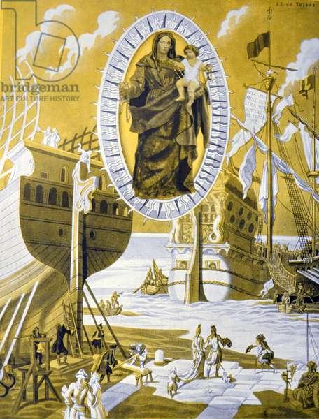 Spanish civil war: Virgin of the Rosary