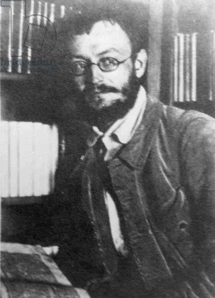 Hermann Hesse, 1906 (b/w photo)