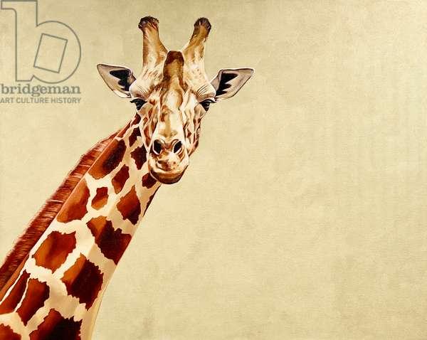Giraffe #1, 2018, (oil on canvas)
