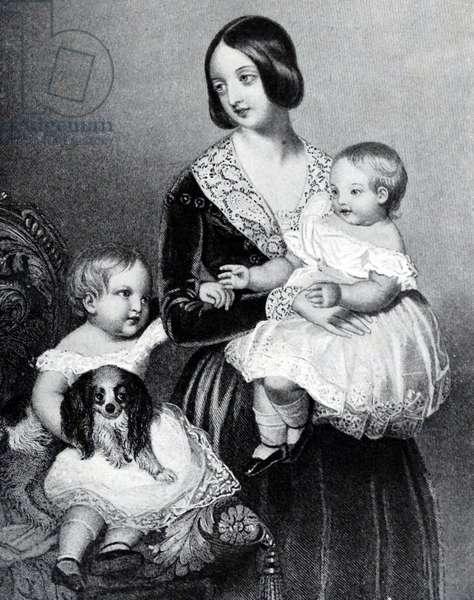 Queen Victoria of Great Britain, 1845