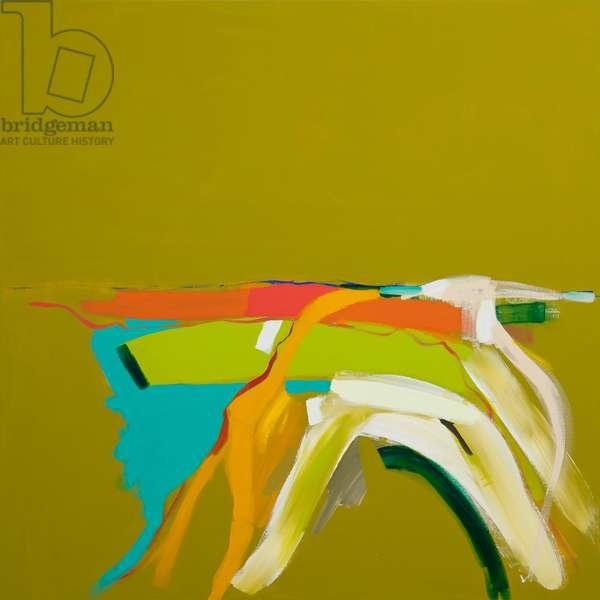 Sunlit Landscape, 2014, (acrylic on canvas)