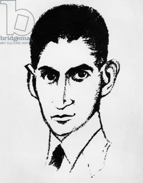 Franz Kafka, 1948 (litho)