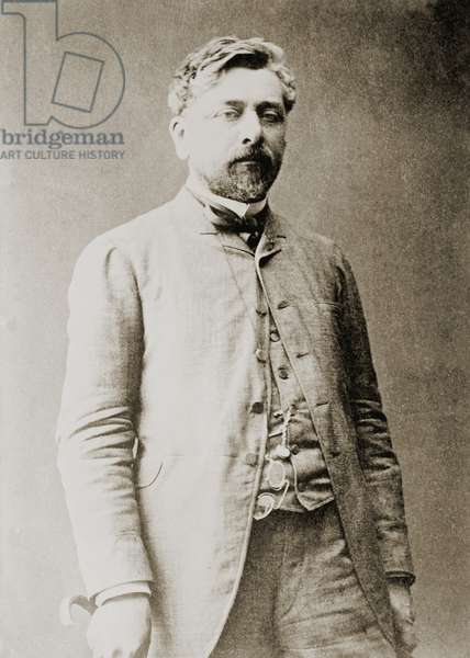 Gustave Eiffel (1832-1923), French civil engineer and architect of the Eiffel Tower